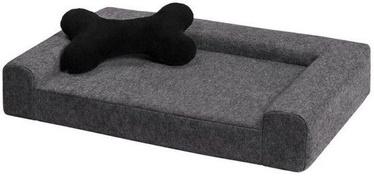 Кровать для животных Myanimaly Simply M, серый, 800x500 мм