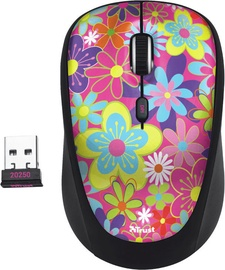 Trust TVI Wireless Mouse Flower Power