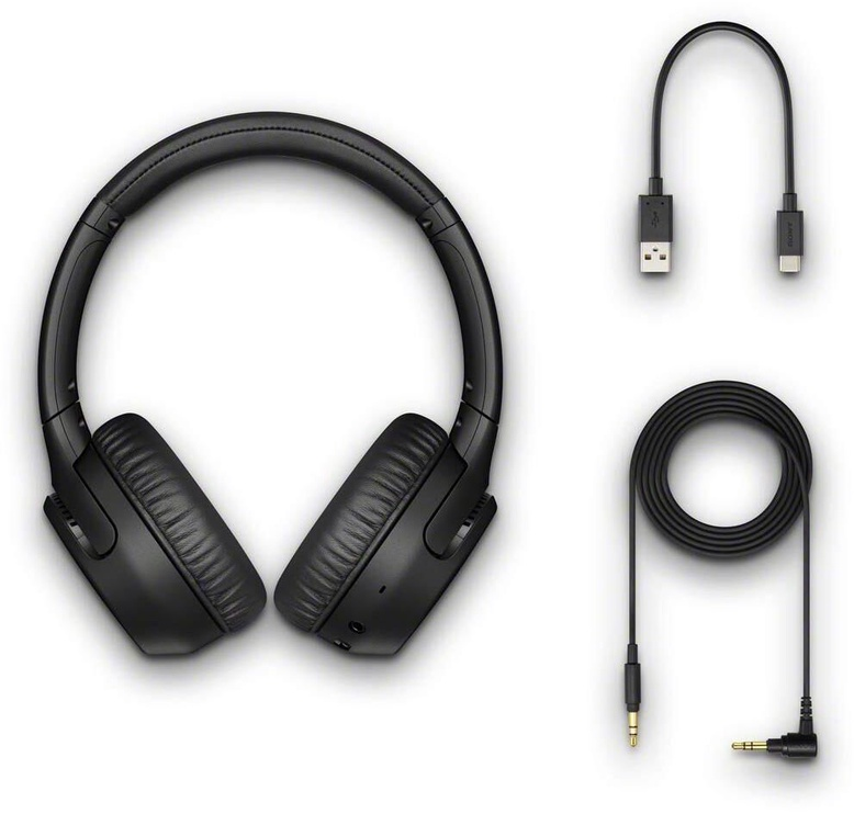 Sony WH-XB700 Extra Bass Wireless On-Ear Headphones Blue