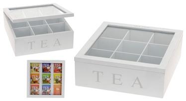Teekarp, 23 x 23 cm