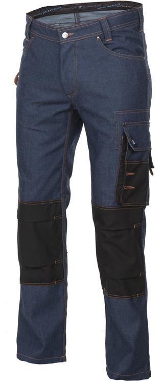 Брюки Sara Workwear 10541, синий/коричневый, L