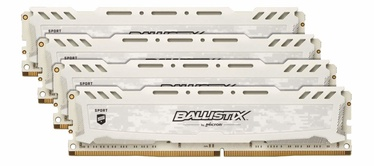 Crucial Ballistix Sport LT White 32GB 2666MHz DDR4 CL16 KIT OF 4 BLS4K8G4D26BFSC