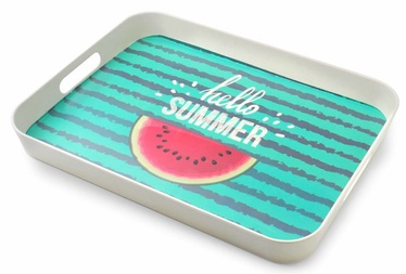 Mondex Summer Decorative Tray Bamboo