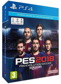 Pro Evolution Soccer 2018 Legendary Edition PS4