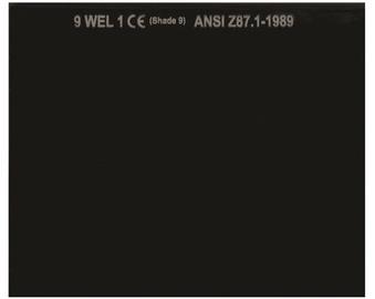 Vagner WH-GL7598 DIN9 Protective Welder Filter
