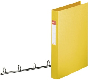 Esselte Folder 4 Rings Yellow