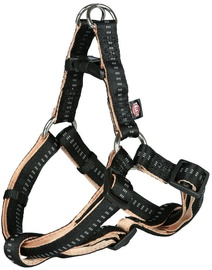 Trixie Softline Elegance One Touch Harness S Black/Beige