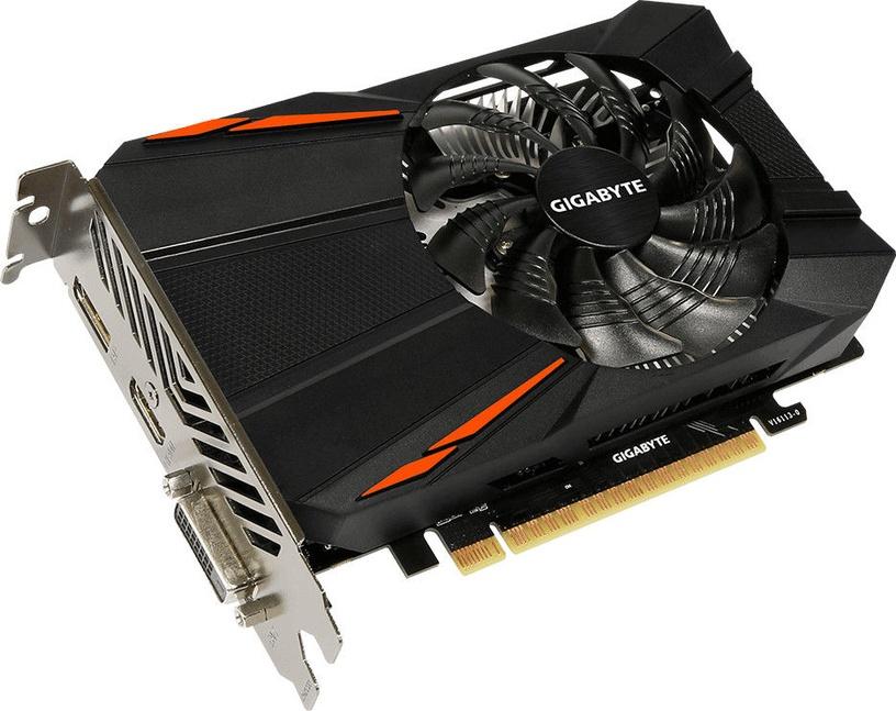Gigabyte GeForce GTX 1050 Ti 4GB GDDR5 PCIE rev1.1 GV-N105TD5-4GDV1.1