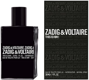 Tualettvesi Zadig & Voltaire This Is Him! 30ml EDT