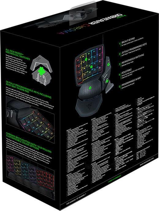 Razer Orbweaver Chroma Elite Gaming Keypad