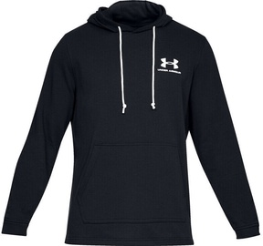 Under Armour Mens Sportstyle Terry Pullover Hoodie 1329291-001 Black S