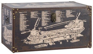 Home4you Box Ventura 2 60x30xH30cm Helicopter