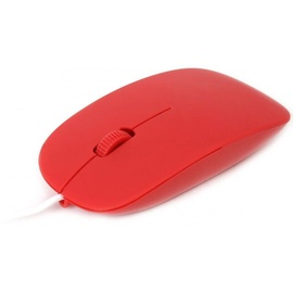 Kompiuterio pelė Omega OM-414 Red, laidinė, optinė