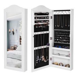 Peegel Songmics Jewelry Armoire, 35x96 cm