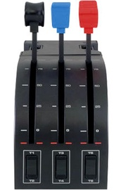 Джойстик Logitech Saitek Pro Flight Throttle Quadrant