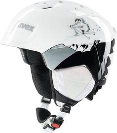 Uvex Manic Kids Ski Helmet White Yeti 51-55