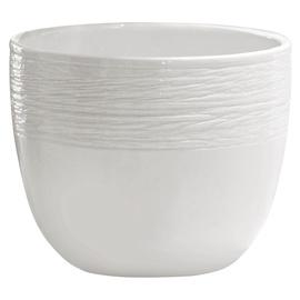 Вазон SN Ceramic Flower Pot Pleciony Jednolity Ø20cm Pink