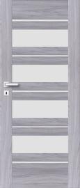 Полотно межкомнатной двери PerfectDoor EVIA 01, серый, 203.5 см x 64.4 см x 4 см