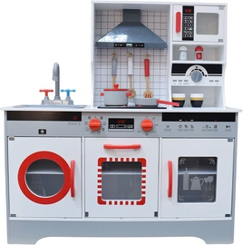 4IQ Oktawia Modern Wooden Kitchen With Sound