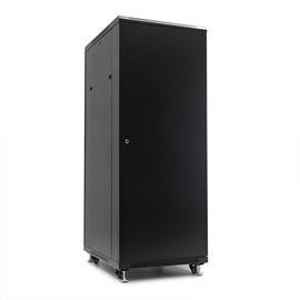 Netrack Economy Standing Server Cabinet 32U/800x800mm Perforated Black