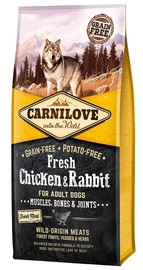 Carnilove Adult Dog Fresh Chicken & Rabbit 12kg