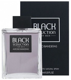 Tualetes ūdens Antonio Banderas Black Seduction 200ml EDT