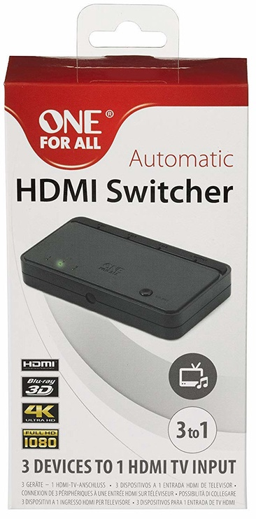 One For All Automatic HDMI Switcher