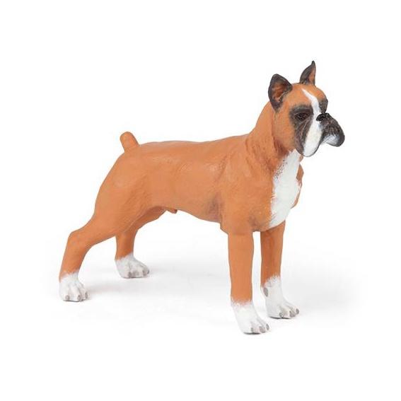 Rotaļlieta suns boxer 54019 (PAPO)