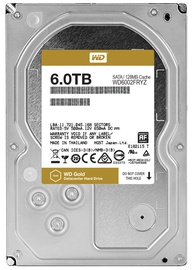 Western Digital Gold 6TB 7200RPM SATA 128MB WD6002FRYZ
