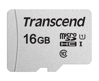 Mälukaart Transcend MicroSDHC 16GB CL10 UHS-I U1 Up to 95MB/S
