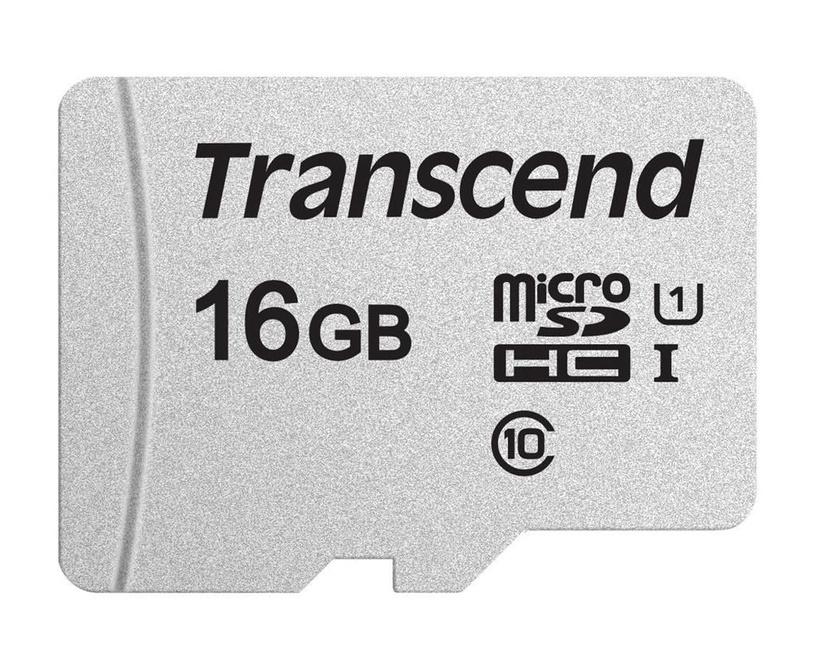 Transcend MicroSDHC 16GB CL10 UHS-I U1 Up to 95MB/S