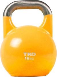 TKO Kettlebell 16kg Yellow