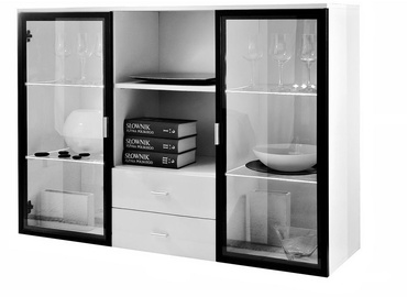 ASM Quadro Commode White/Black