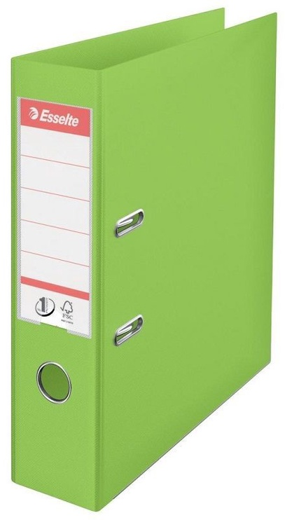 Esselte No.1 Vivida Lever Arch File PP 7.5cm Green