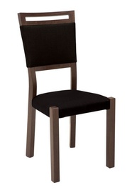 Black Red White Alhambra Chair Dark Brown/Black