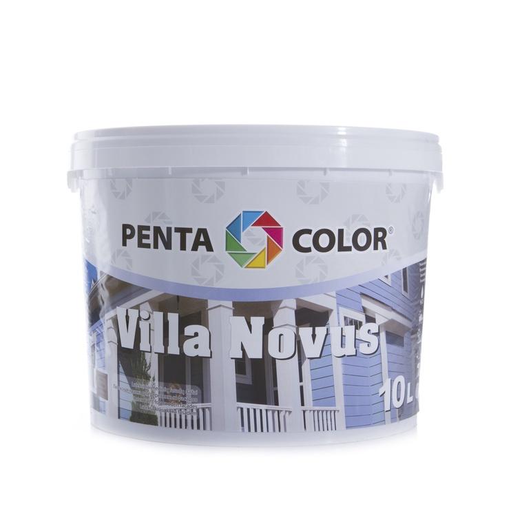 Krāsa fasādēm Pentacolor Villa Novus, 10 l, šokolādes krāsā