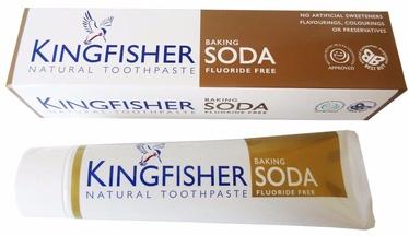 Dantų pasta Kingfisher Baking Soda 100ml Fluoride Free