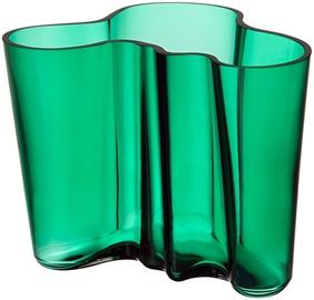 Iittala Alvar Aalto Collection Vase 160mm Emerald