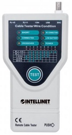 Intellinet 5-in-1 Cable Tester for Cat 5 / 6