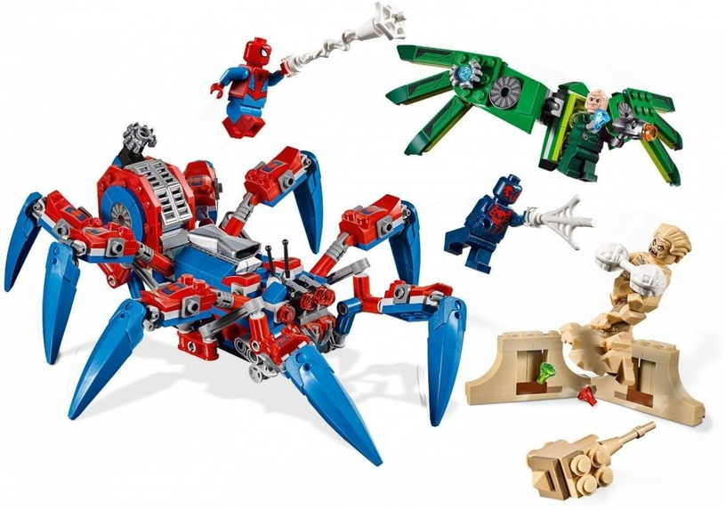 Konstruktorius LEGO Super Heroes Spider-Man Spider Crawler 76114