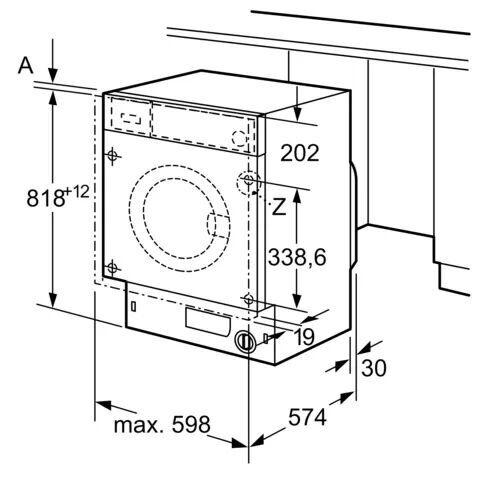 Iebūvējama veļas mašīna Bosch WIW24341EU