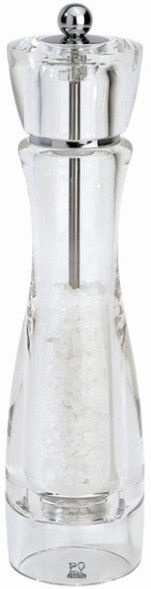 Peugeot Saveurs Acrylic Vittel Salt Mill 23cm