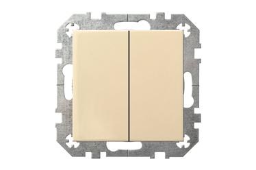 Slēdzis Liregus IP6+6 10-001-01 E/S, smilškrāsas