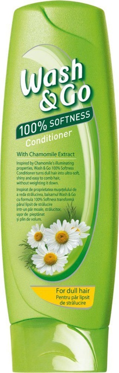 Plaukų kondicionierius Wash&Go Chamomile, 180 ml