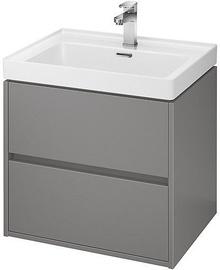Vonios spintelė Cersanit S924-016 Crea Basin 600x450x530mm Gray