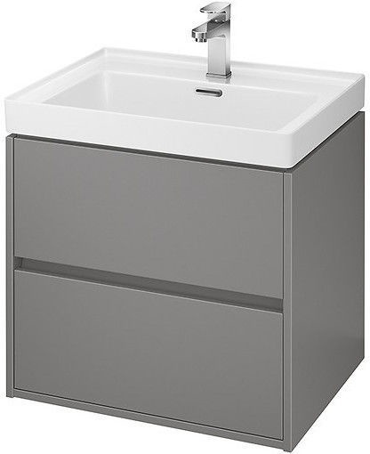 Шкаф для ванной Cersanit S924-016 Crea Basin 600x450x530mm Gray