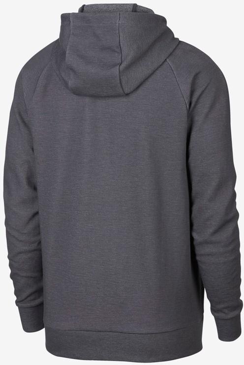 Nike Mens Full Zip Optic Hoodie 928475 021 Grey 2XL