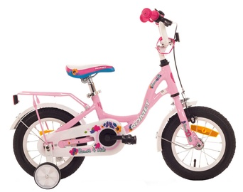 "Vaikiškas dviratis Romet Diana 12"" Pink 18"