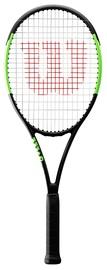Tennisereket Wilson Blade Team, must/roheline