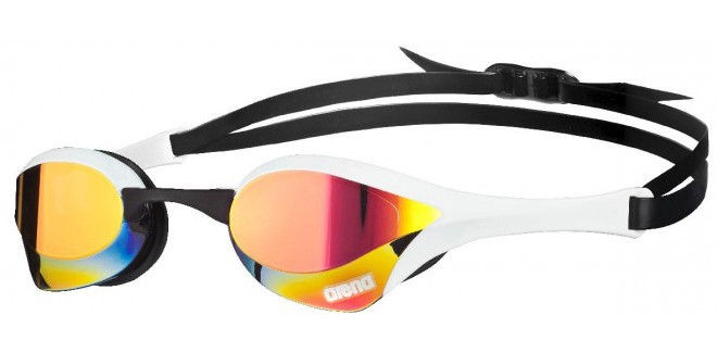 Arena Cobra Ultra Mirror Goggles Red White Black